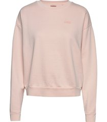 diana crew peach blush garment sweat-shirt trui roze levi´s women