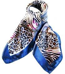 pañuelo bandana safari azul viva felicia