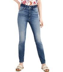 inc sculpting-fit skinny jeans, created for macy's
