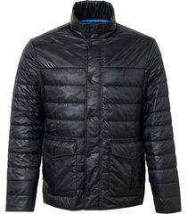 jaqueta dudalina camuflada bolso com lapela alfaiataria masculina (preto, xgg)