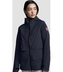 canada goose women's pacifica jacket - marine - l