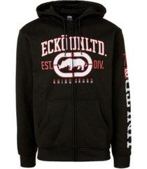 ecko unltd men's rigid rhino full zip hoodie