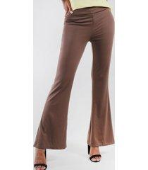 pantalon poly semi oxford beige night concept