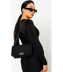 akira classic quilted rubber purse