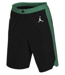 jordan men's boston celtics statement swingman shorts