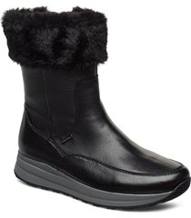 ankle boot with gabor-tex shoes boots ankle boots ankle boots flat heel svart gabor