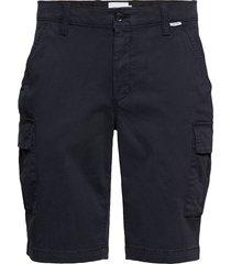 garment dyed cargo shorts shorts cargo shorts blå calvin klein