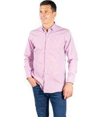 camisa rosa pato pampa corte clasico rayas rg