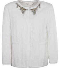 crystal embellished jacket
