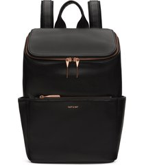 matt & nat brave backpack, black rose gold