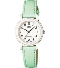 reloj verde casio lq_139l_3b - superbrands