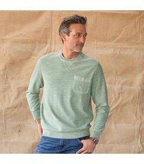 sundance catalog men's peter knit t-shirt in white xl