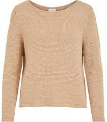 boatneck knit top