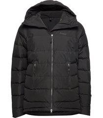 stranda down hybrid jkt outerwear sport jackets zwart bergans