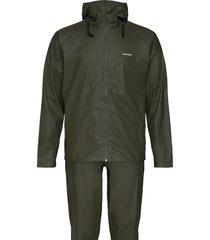 packable rainset outerwear rainwear rain coats grön tretorn