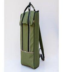 mochila verde matriona matera