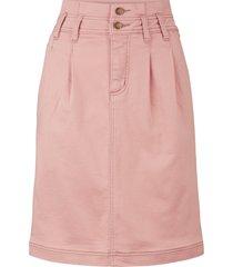 gonna elasticizzata in felpa comoda (rosa) - john baner jeanswear
