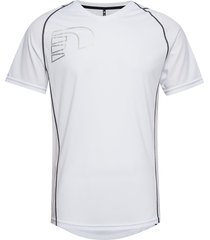 core coolskin tee t-shirts short-sleeved vit newline