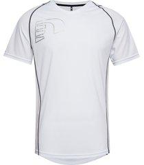 core coolskin tee t-shirts short-sleeved vit newline