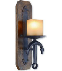 livex cape may 1-light wall sconce
