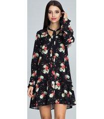 sukienka mini z długim rękawem