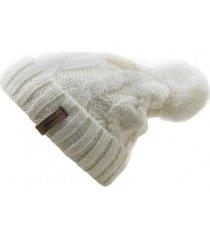 gorro de lana beanie blanco flaw