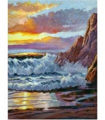 "david lloyd glover northern california coast canvas art - 15"" x 20"""