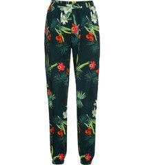 pantaloni con elastico in vita (verde) - bodyflirt