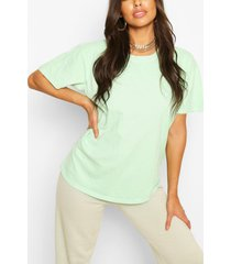 oversized t-shirt, appelgroen