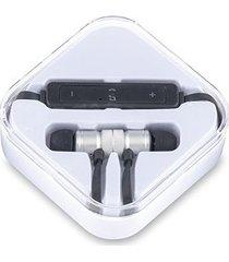 auriculares audifonos bluetooth magnet imantados - silver