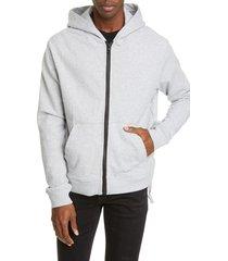 men's ksubi intersect french terry zip hoodie