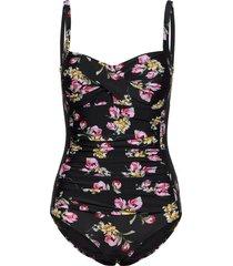 amber swimsuit baddräkt badkläder svart missya