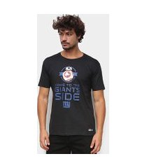 camiseta nfl new york giants side star wars masculina