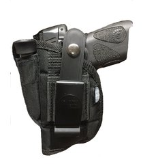 nylon hip belt gun holster glock 43 with crimson trace laser