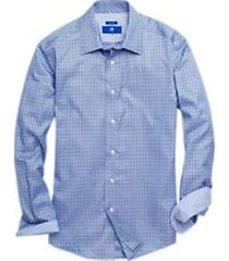 egara blue & green check sport shirt