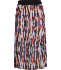 ralissy-1 knälång kjol multi/mönstrad hugo