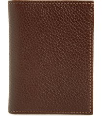 men's nordstrom midland leather billfold wallet - brown