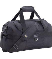bolso negro cat millennial cargo duffel small