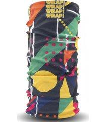 bandana geometric bowling multicolor wild wrap
