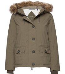 d2. arctic jacket gevoerd jack groen gant