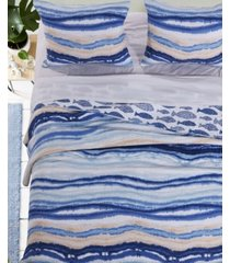 crystal cove quilt set, 3-piece full - queen
