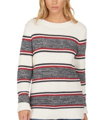 barbour merseyside cotton striped top