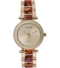 reloj dorado-café virox airtime