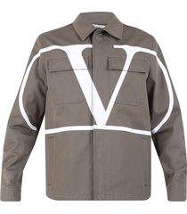 valentino branded jacket