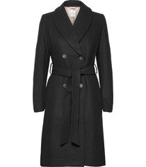 coat ls trench coat rock svart rosemunde