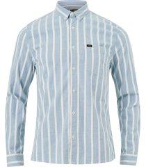 skjorta slim button down shirt