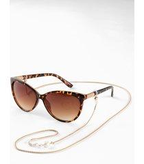 occhiali da sole con catenella (marrone) - bpc bonprix collection