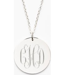 women's jane basch designs personalized reversible pendant necklace