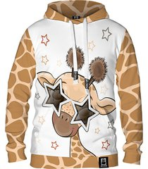damska bluza z kapturem dr.crow cute giraffe