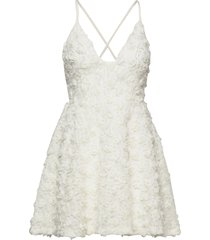 charlie dress kort klänning vit ida sjöstedt